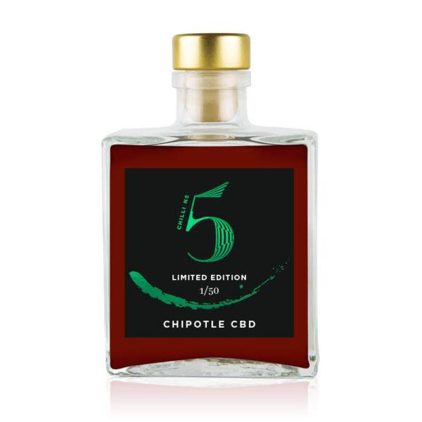 Chilli No. 5 - Healthy Vegan Hot Sauce - Chipotle CBD